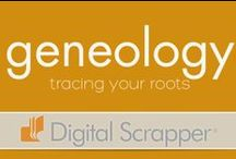 Geneology / Tracing our family line is a rewarding expierience. Here are some ideas for researching and scrapping that will make your research more fruitful!