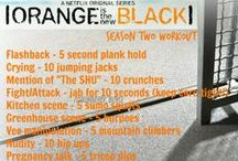 TV Show Workouts :) <3 / by Kimberly Boyle