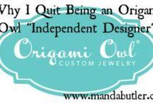Origami Owl ! I'm NOT an Independent Designer / by Amanda Butler