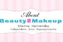 About Beauty2Makeup / Wondering who's behind this Beauty2Makeup? Well it's just Lil' Ol' Me of course! Take a look to see what it's like to be an Avon Representative.