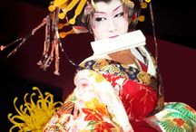 Kabuki masks and Clowns: Face paint / #kabuki #clowns #makeup #comparisons #art #facepaint #theater #face #arthistory #history #research