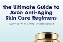 Avon Anti-Aging Skin Care / Avon Anew anti-aging products have been helping millions look younger and beautiful for over two decades.  Avon has expanded the line to meet virtually every anti-aging skin care need. With skin care breakthroughs and anti-aging technology, Avon continues to revolutionize the world of skin care with the Anew brand to help women look years younger.