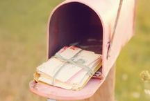 Mailbox  / I real miss these old days when i was always writing and receiving letters, especially on Christmas when i was doing my own postcards to send them to my friends hoping they receive it on time...