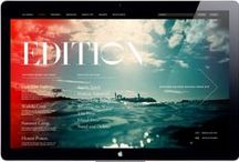 Inspiration Web / Nos inspirations web. #webinspiration #webdesign #webdesigners #uidesign #webinterface