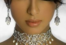 Pretty Pearls  / Beautiful pearls, some with stones & Diamonds