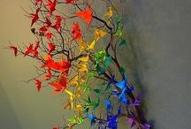 Paper Crane / 1000 paper crane ideas / by Bradley Ellis