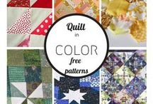 QUILTS AN MORE QUILTS / GETTING THE FEEL OF THIS NEW PROJECT OF FUN!? / by Emma Buchholz