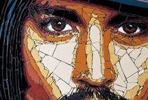 Modern Mosaic Art  - not mine. / The Contemporaty Art of other talented Mosaic Artists