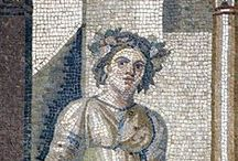 Ancient Mosaics / Work of the Ancient Greek, Roman and Medieval masters. Where you can enjoy beauty, and remember that mosaics last centuries, or millenia !