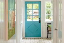 The Entrance / It's your home's first impression. Make your entry way pop.