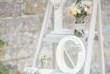 Recreate it with FAT Paint: Wedding Decor / We love finding Pinspiration, but how do we actually make it come to life? We take pins and tell you how to DIY with FAT Paint. And it's all about weddings here.