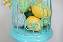 **Easter Egg Hunt** / Get ready for the bunny with these great Easter decor ideas