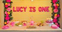 Birthday Party Inspiration - Girl