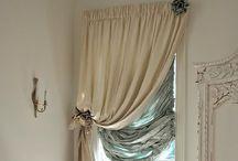 Window coverings & door drapes