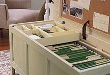 Organization Ideas / by Mallory Miller