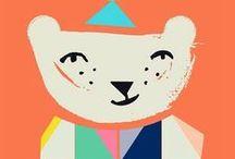 Kids Design / Décor, Fabrics, Toys, Paper Goods, Fabrics - for little people