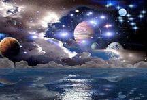 The Sun, the Moon & the Stars / by Jeannie Smith