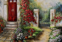 Buildings and Blossoms / by Linda Chaffins