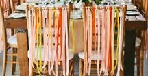 Party Styling / Styling your party with low cost and yet stunning ideas.  Bright, colourful and pretty.
