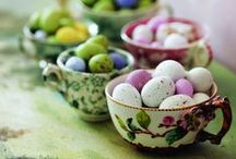 Easter Foods and Makes / Embracing all things spring as Easter brings the light after months of dark cold wintry days.