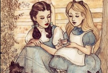 The Wonderland and Oz / The Journeys Of Alice And Dorothy / by Linda Chaffins