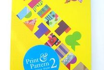 Print & Pattern Book 2 / A selection of pages from the second Print & Pattern book published in 2011