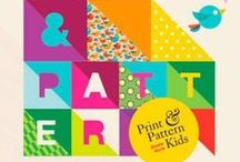Print & Pattern Kids Book / A selection of pages from the book 'Print & Pattern Kids' published in 2013.