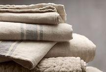 Linens~Grain sacks~Vintage textiles