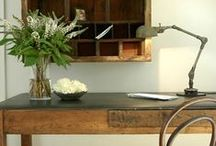 Office. / Farmhouse and Vintage Inspired Home Decor ideas for your Office.