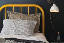 Yellow - pop / A pop of bright yellow in a room can lift your heart.