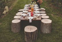 Long Table Dinning & Gatherings / A table setting for every occasion.