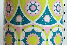 Vintage / Vintage fabrics, wallpapers, ceramics, paper goods, etc.