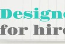 Designers for Hire / A selection of fabulous freelance designers who are all available for licensing and commissions. www.designersforhire.net