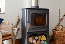 Woodburner Decor / Woodburners bring the home alive and provide warmth and some where for everyone to gather.