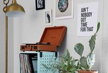 Vinyl / Disco, funk, early rap or classical.  Throw some shapes and listen to the beat.