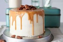 Cake / Tall, layered, traybake or just family favourites.  Cakes to try or feast with your eyes.