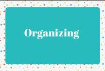 Organizing / Organizing all around your home and office Organizing Tips and Tricks