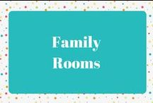 Family Rooms / Family Room Decor and Ideas