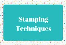 Stamping Techniques / Stamping Techniques