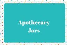 Apothecary Jars / Apothecary Jar Decor Ideas