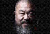 # Artist - Ai Weiwei / Ai Weiwei is a Chinese contemporary artist, active in sculpture, installation, architecture, curating, photography, film, and social, political and cultural.