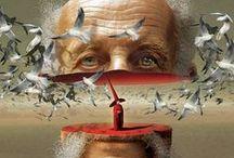 # Artist - Igor Morski / Polish graphic designer (b.1960), illustrator and set designer. Presently, he focuses on mixed media graphic art, based manly on photo manipulation, drawing, recently also 3D.