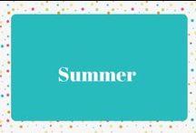 Summer / Summer Decor, Recipes, and Ideas