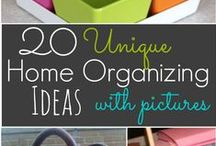 Organizing / This is probably the subject at which I'm the very worst--and the one I need most!