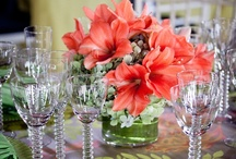 Bergerons Receptions & Events / Bergerons designed centerpieces, buffet arrangments and details from events and receptions