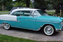1955 Cars / My birth year ~ thanks, John, for sending these to me! / by Nancy Hood