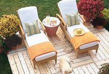 Outdoor Living / Rustic ideas for your outdoor living experience. / by The Summery Umbrella