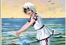 SEASIDE- VINTAGE POSTCARDS ETC / by Phyllis Closser