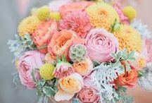 Bridal  Bouquets - Pastels and Soft Colors