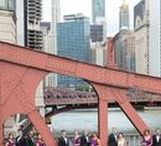 Chicago Wedding Photo Locations / Outdoor, Indoor, Skyline, Bridges, Millenium Park, Olive Park, LaSalle Street Bridge,